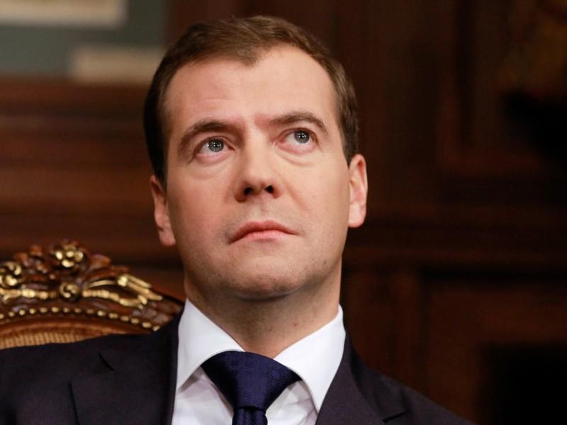 Премьер – министр Медведев прибыл в Давос