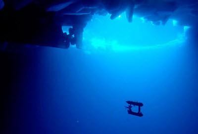 Роботы помогают изучать ледяной покров Антарктиды