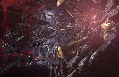 Самое массовое сражение в истории игры EVE Online