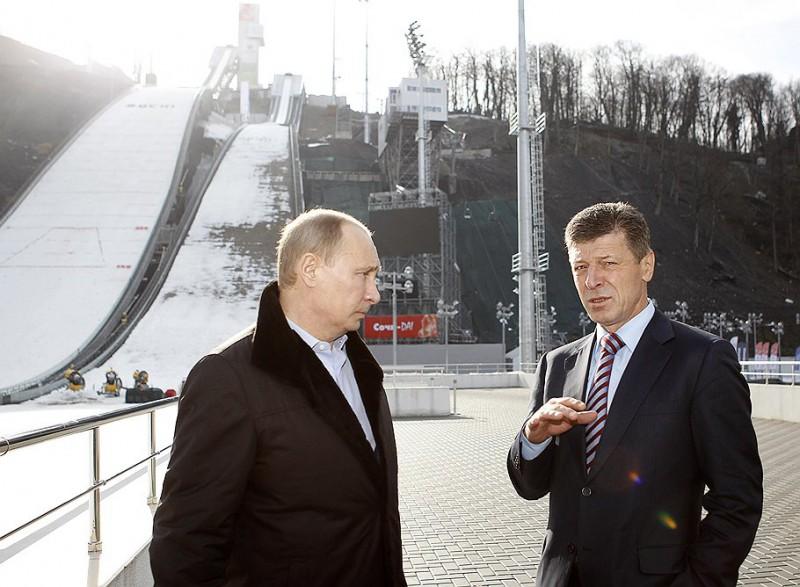 Президент посетил Сочи