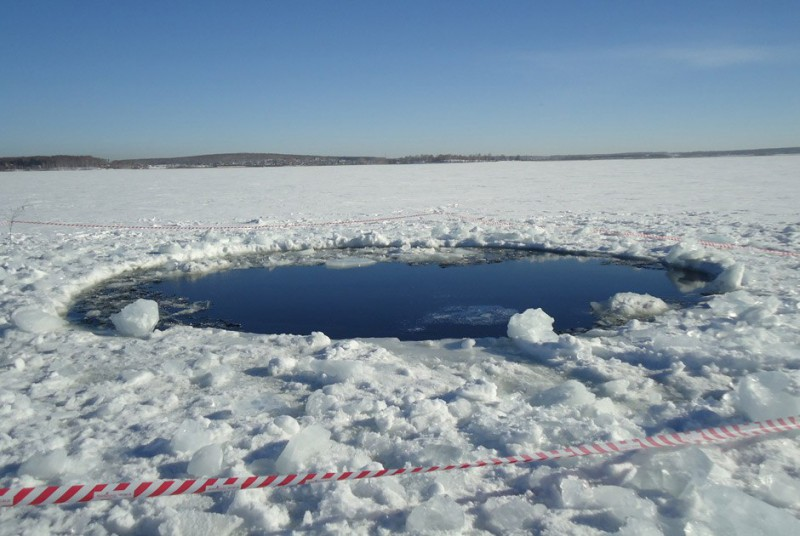 Обломки челябинского метеорита отправлены специалистам
