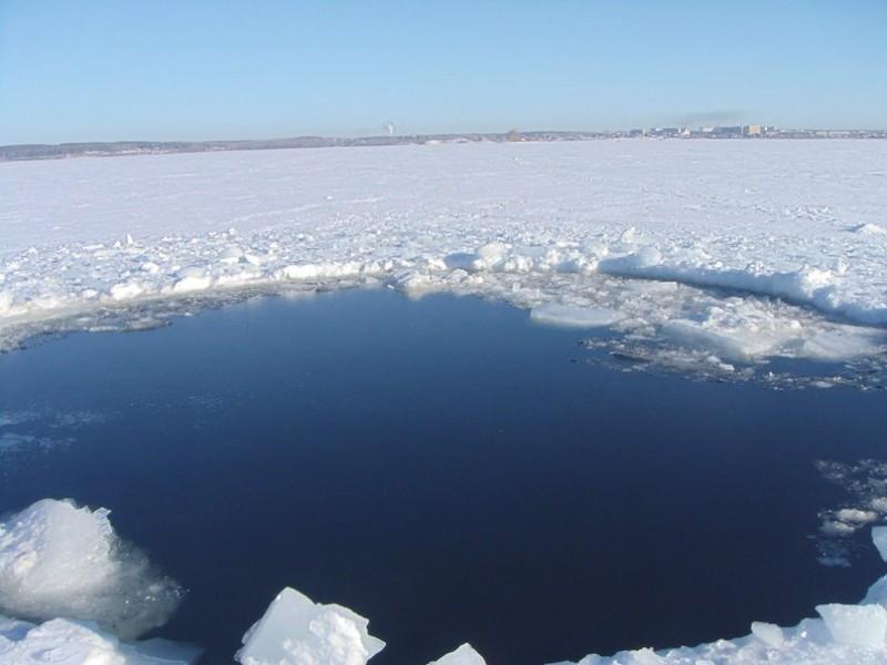 Воронка от метеорита была обнаружена на дне озера Чебаркуль