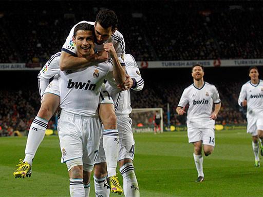 «Реал» обыграл «Барселону»