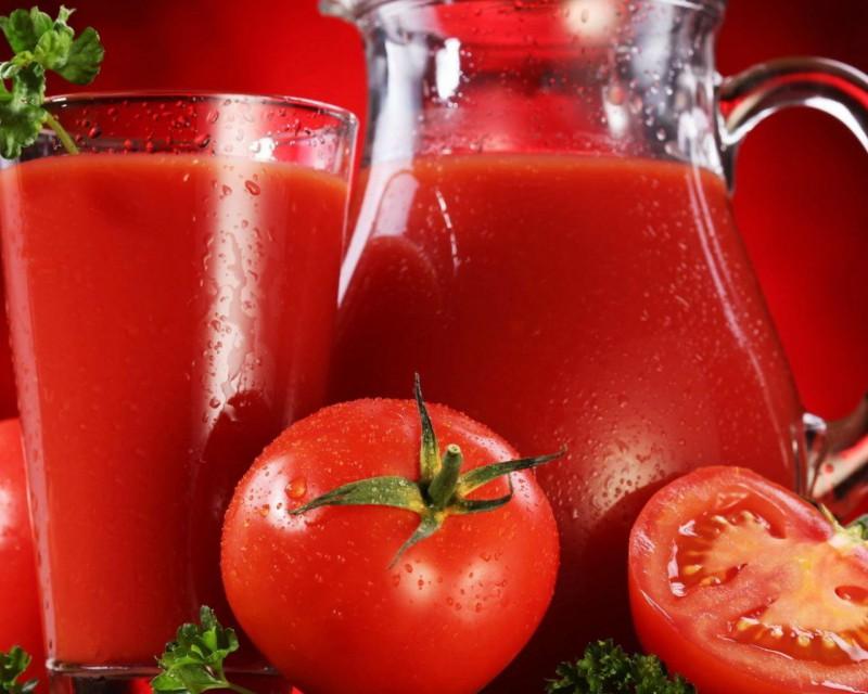Томатный сок помогает восстанавливаться после тренировки