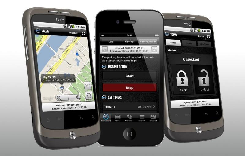 Volvo On Call – новое мобильное приложение компании Volvo