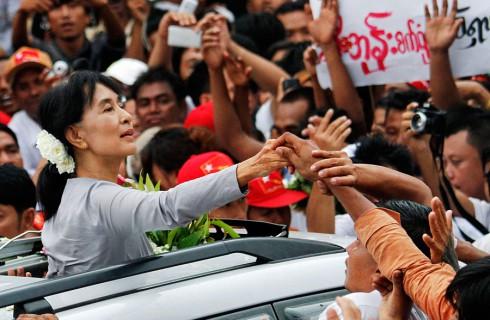 Аун Су Чжи осталась лидером оппозиции Мьянме
