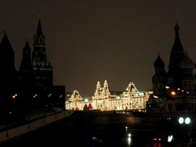 В рамках акции «Час Земли» была выключена подсветка на Кремле