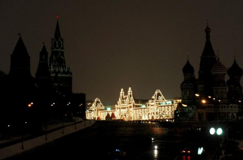 В Москве прошел «Час Земли»