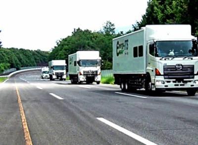 Роботы управляют грузовыми автопоездами