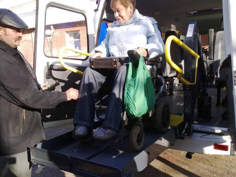Социальное такси для инвалидов