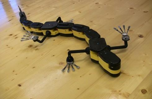 Швейцарцы создали робота-амфибию