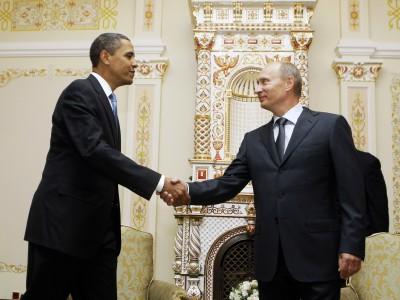 Владимир Путин поговорил с Бараком Обамой