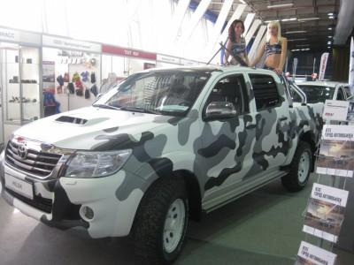 Прошлогодняя выставка «АвтоЭКСПО-2012»