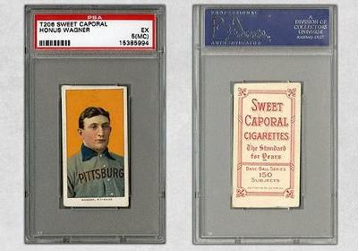 Карточку бейсболиста продали за 2,1 миллиона долларов