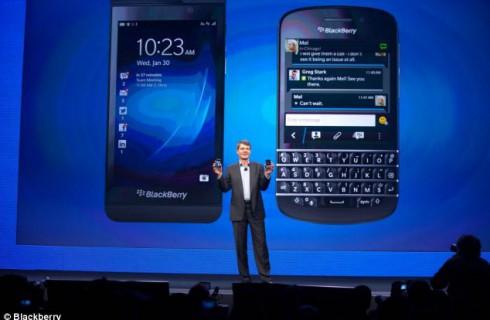 Blackberry Q10 – назад в будущее