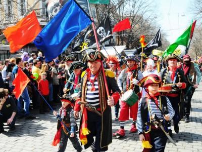 В Одессе прошел День смеха