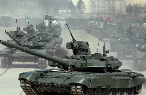 В Подмосковье перенесли репетицию Парада Победы