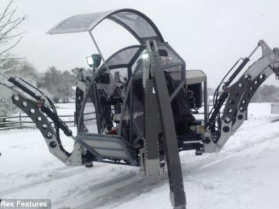 «Mantis» — робот-насекомое