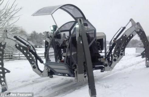 «Mantis» – робот-насекомое