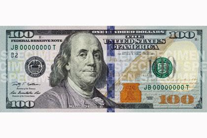В США появится новая стодолларовая купюра