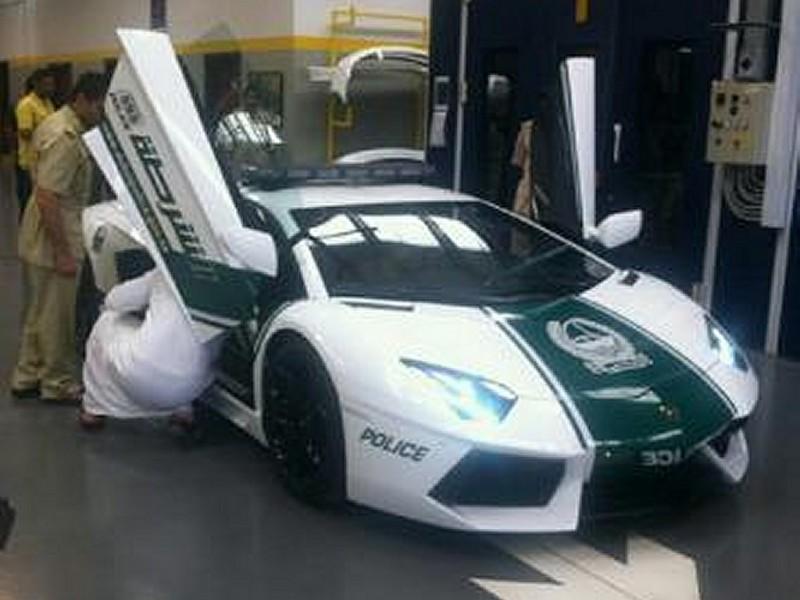 Lamborghini для полиции Дубая