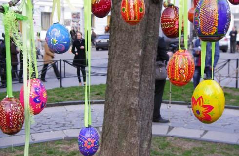 Как в Киеве отмечали Пасху