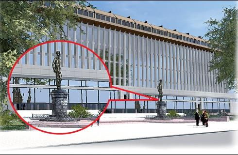 В Перми памятник будет раздавать Wi-Fi