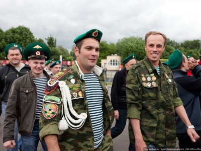 Москва отпраздновала День пограничника