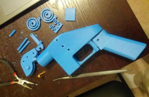 Первый пистолет был напечатан на 3D-принтере