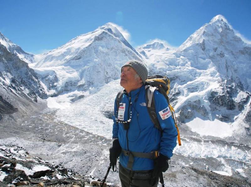 Юичи Миура вновь покоряет Эверест