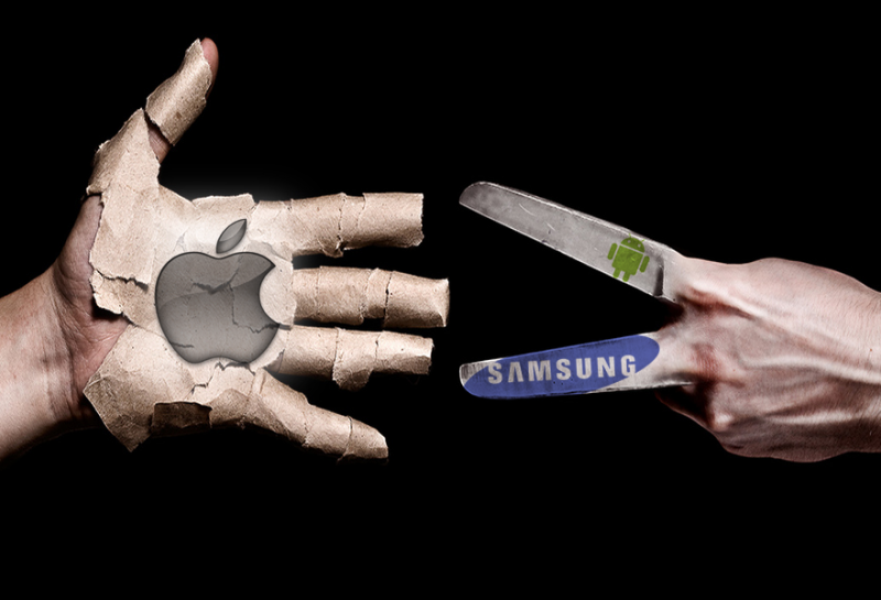 Apple намерена победить Samsung