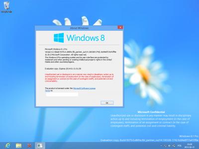 Тестовая версия Windows 8.1 доступна для скачивания