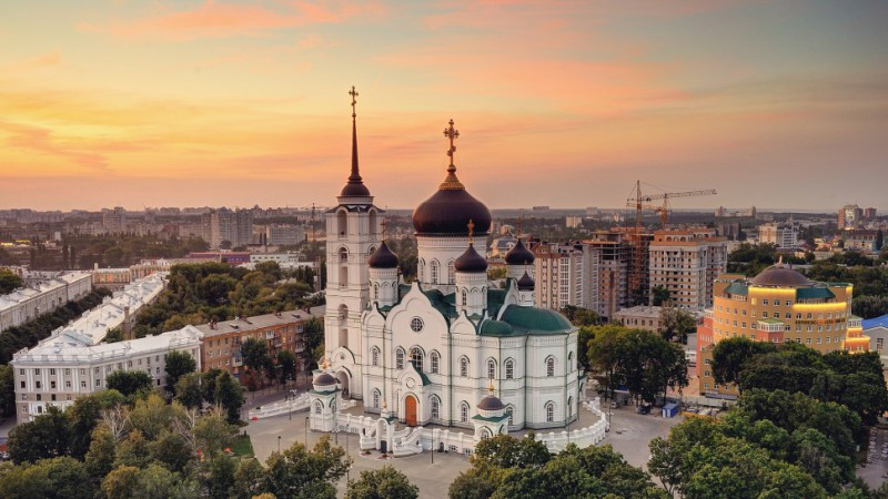 В Благовещенском соборе Воронежа скоро начнется роспись стен