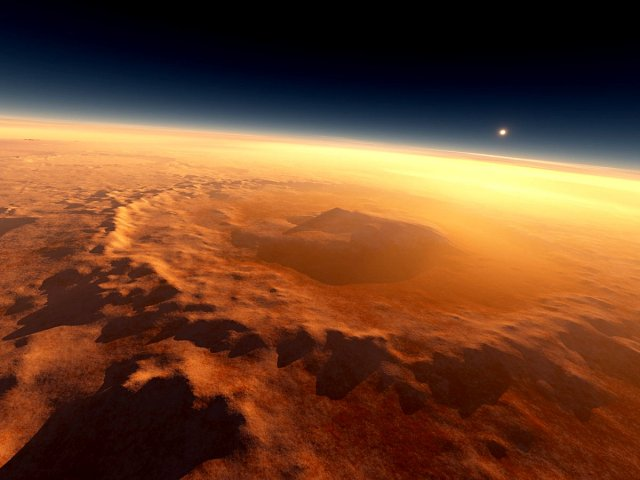 На Марсе действительно была вода