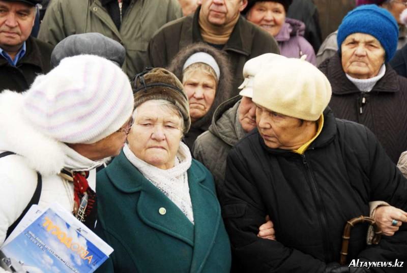 Казахстанские пенсионеры