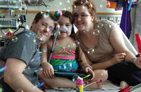 Сара Мурнаган очнулась после операции по пересадке легких
