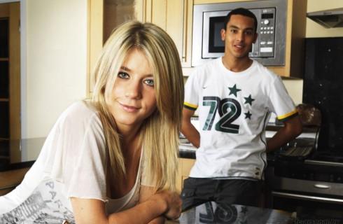 Звезда «Арсенала» Тео Уолкотт женился
