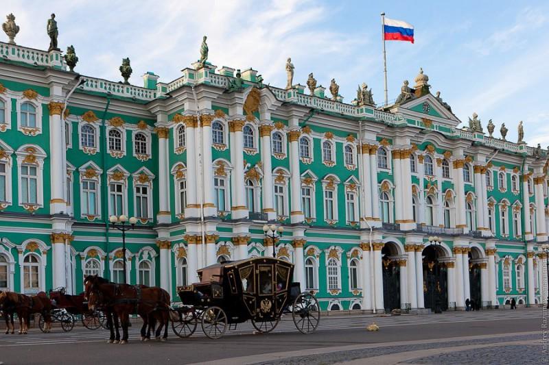 Дворцы и районы Петербурга