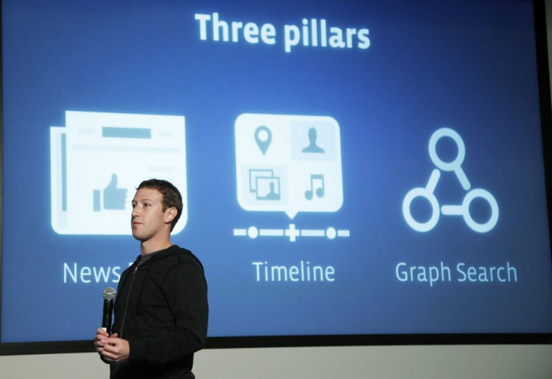 Facebook запустил бета-версию Graph Search