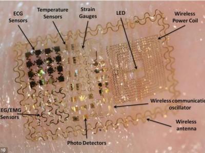Ученые создали электронную кожу