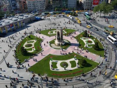 Площадь Таксим, Турция