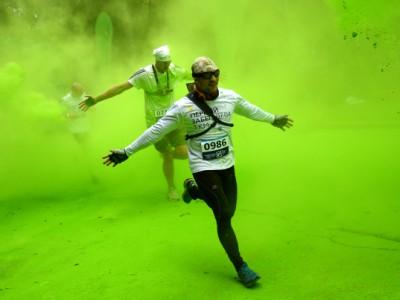 «Красочный забег» в Москве