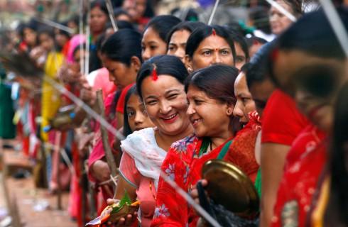 Момент появления современных индусов