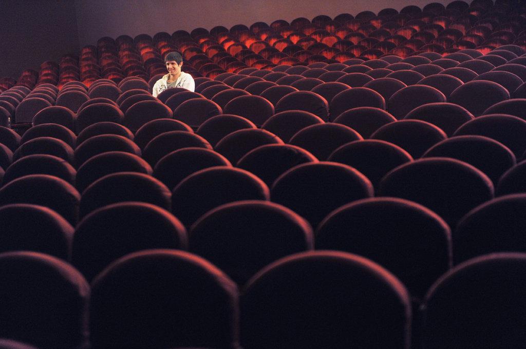 в Театре Ермоловой