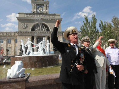 Фонтан «Детский хоровод» в Волгограде