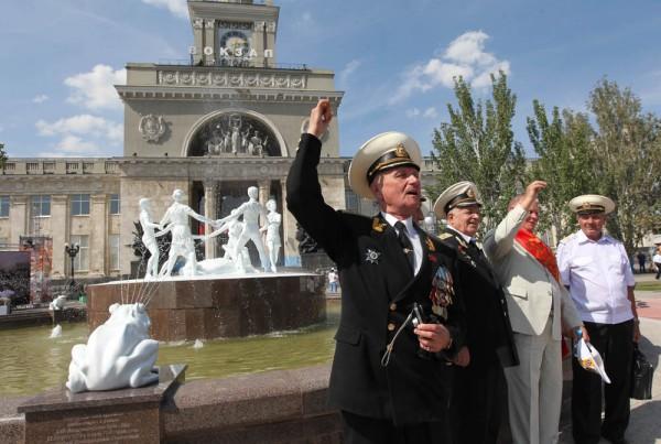 Владимир Путин принял участие в открытии «Детского хоровода»