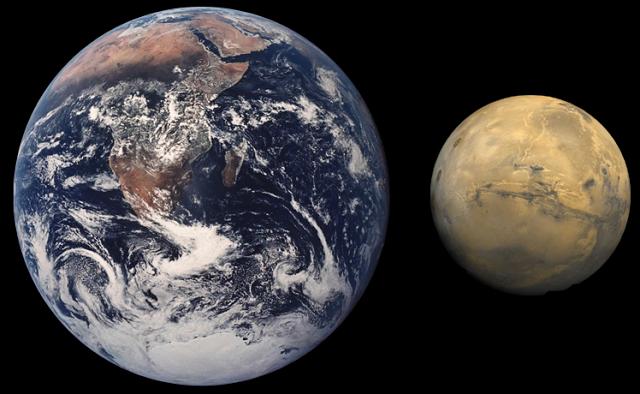 Марс породил жизнь на Земле