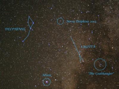 Звезда Nova Delphini 2013