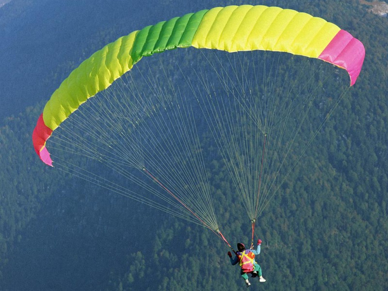 Бразильянка прыгнула с парашюта в 103 года