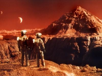 Колонизаторы на Марсе